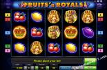 danske spillemaskiner Fruits and Royals Gaminator